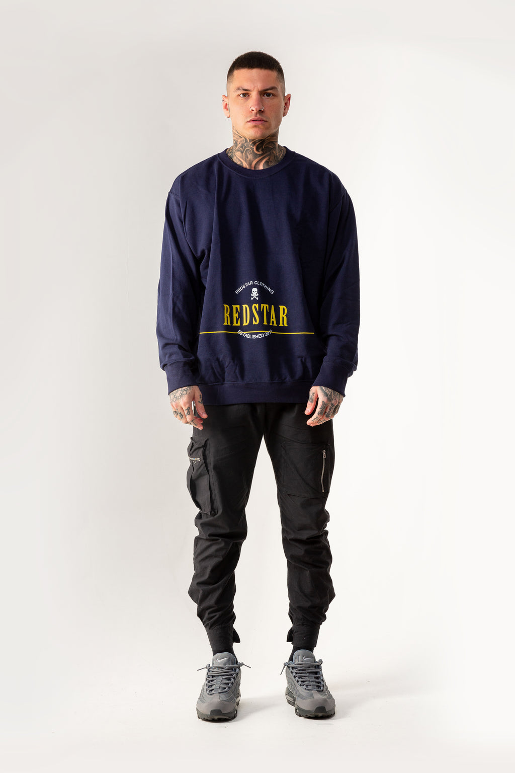 Low Down Sweater Navy