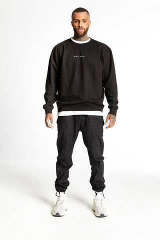 Clean Heavyweight Sweater Black