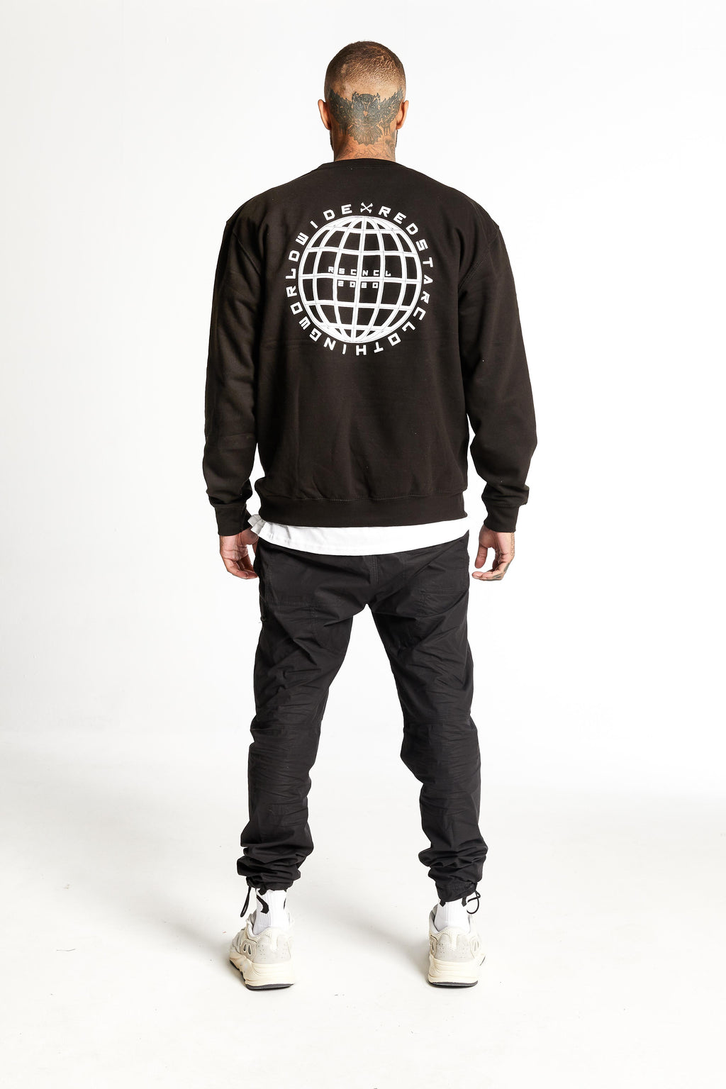Redstar Worldwide Heavyweight Sweater Black
