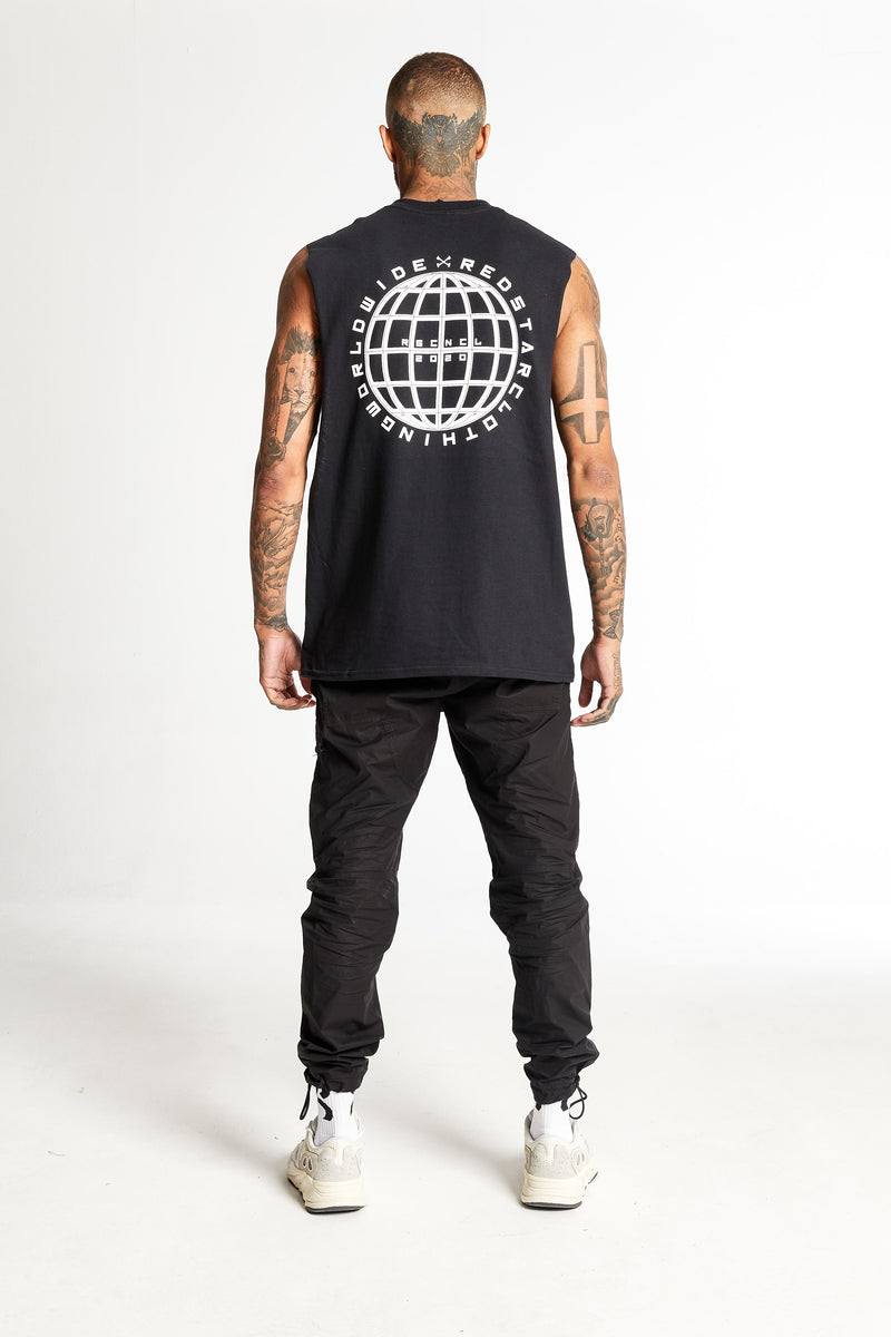 Redstar Worldwide Tank Black