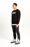 Script Heavyweight Sweater Black