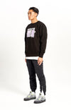 Skeleton Heavyweight Sweater Black