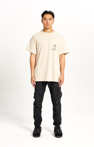 Oversized Coroded Logo Sand