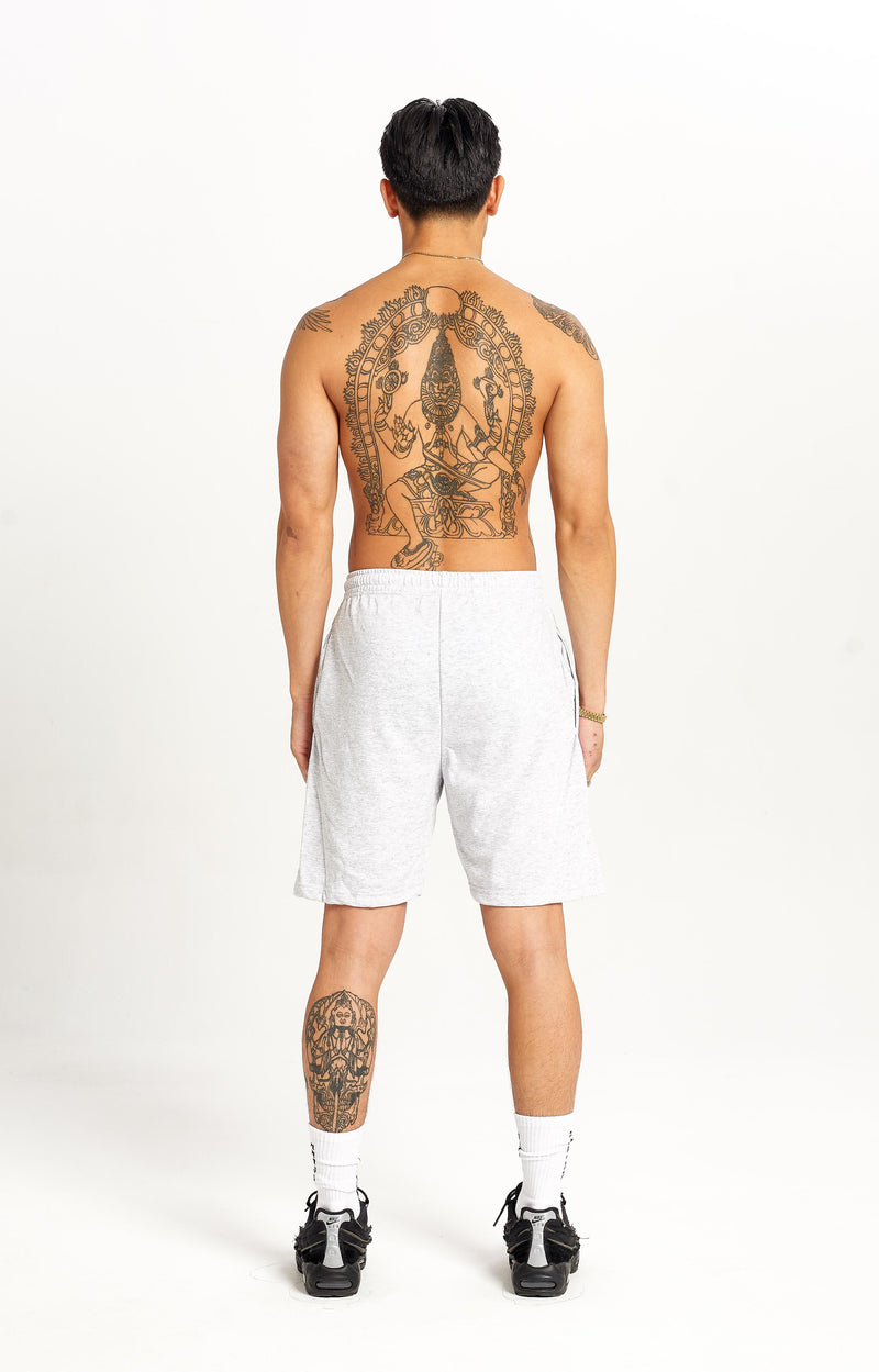 Stack Sweat Shorts Grey