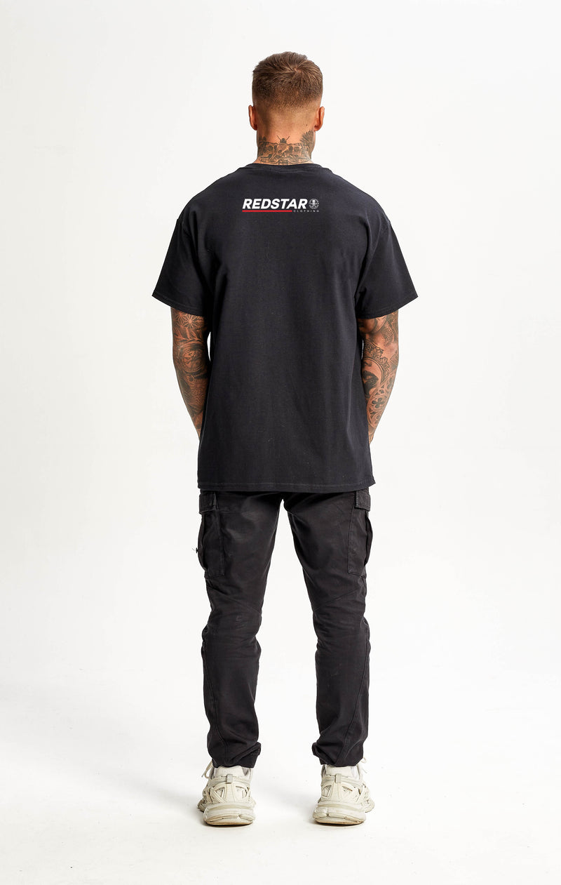 Redstripe II Black