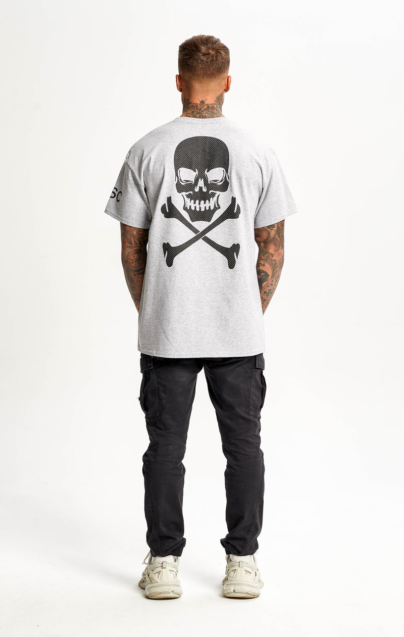 Dotted SkullBack Grey