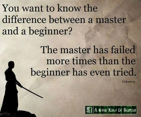 It takes Work to gain Mastery
