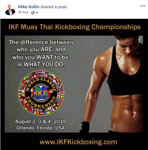 Muay Thai Championship Female Fighter