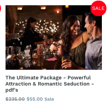 The Most Powerful Course on Romance, Love & Seduction! Life Changing!!