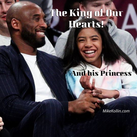 Kobe Bryant The Kind of Our Hearts with is Princess his Daughter