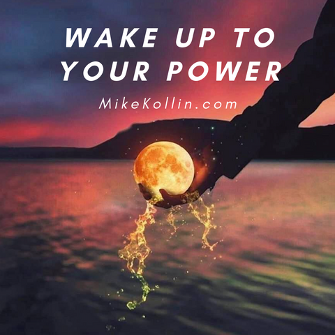 Wake Up to Your Power | Orange Ball of Energy in Hand