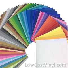Vinyl Sheets For Craft Projects Using Cricut, Silhouette & Other Vinyl Cutting Machines