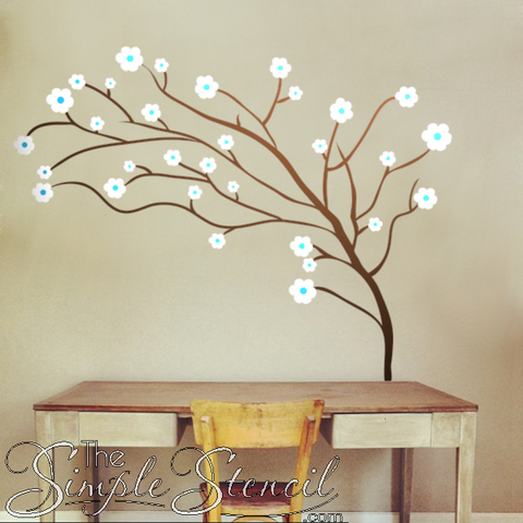 Cherry-Blossom-Tree-Using-Copper-Metallic-Oracal-Vinyl-Picture-Courtesy-Of-TheSimpleStencil