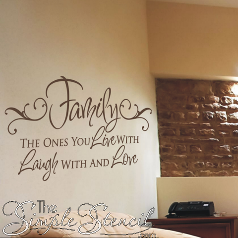 Chocolate-Brown-Oracal-Vinyl-631-Color-080-Used-In-This-Family-Inspired-Vinyl-Wall-Decal-By-TheSimpleStencil