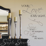 VInyl-Wall-Decal-Love-Quote-Using-Grey-and-Black-Matte-Removable-Vinyl-Courtesy-Of-TheSimpleStencil