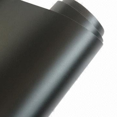 Matte Black Vinyl Rolls | Oracal 651 Indoor/Outdoor Permanent Adhesive Vinyl