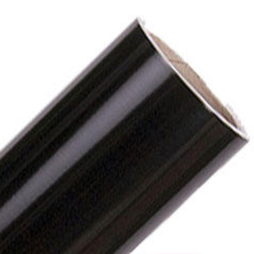 Gloss Black Vinyl Rolls | Oracal 651 Indoor/Outdoor Permanent Adhesive Vinyl
