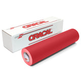 Red Matte Finish Vinyl Rolls | Oracal 631 Removable Wall & Craft Vinyl | 12 & 24 Inch Rolls