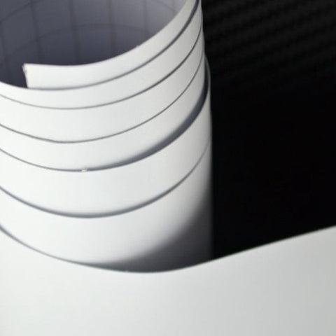 Matte White Vinyl Rolls | Oracal 651 Indoor/Outdoor Permanent Adhesive Vinyl