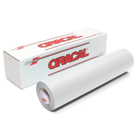 Matte White Craft Vinyl | Oracal 631 Removable Vinyl Rolls | Cricut & Silhouette