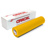 Yellow Matte Finish Vinyl Rolls | Oracal 631 Removable Wall Vinyl | 5 Shades Yellow