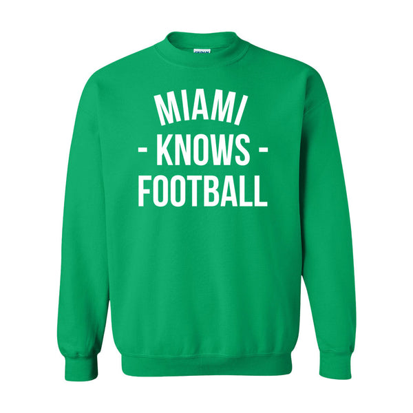Miami Knows Football Sweater (Unisex)