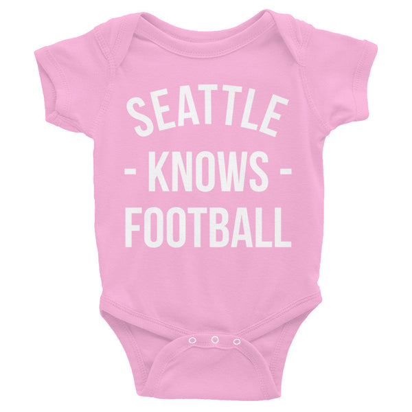 Seattle Knows Football Baby Onesie