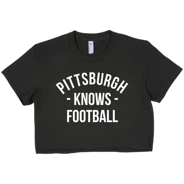 Pittsburgh Knows Football Women's Crop Top