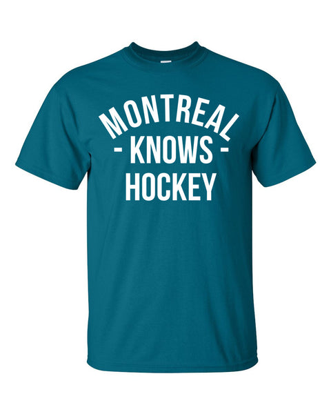 Montreal Knows Hockey T-Shirt (Unisex)