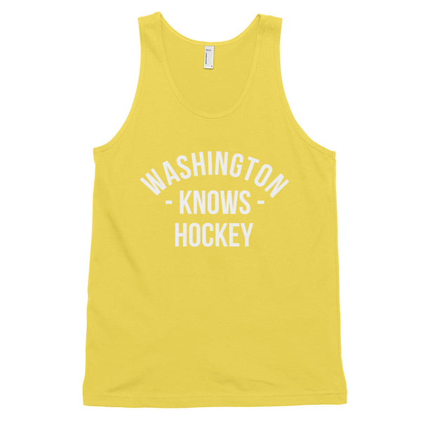 Washington Knows Hockey Tank-Top (Unisex)