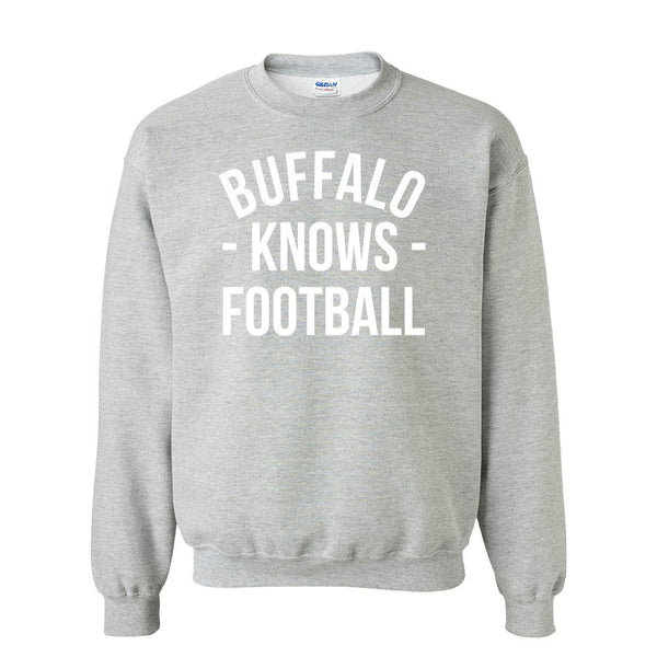 Buffalo Knows Football Sweater (Unisex)