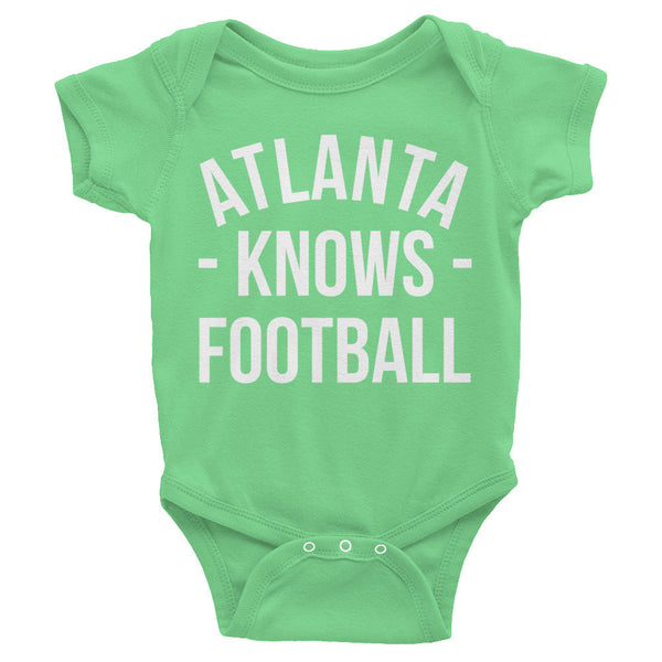 Atlanta Knows Football Baby Onesie