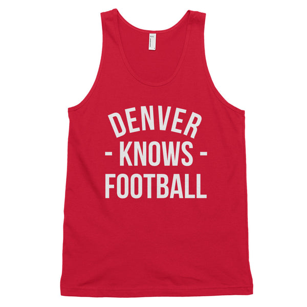Denver Knows Football Tank-Top (Unisex)