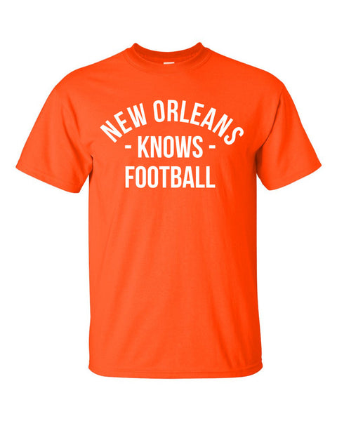 New Orleans Knows Football T-Shirt (Unisex)
