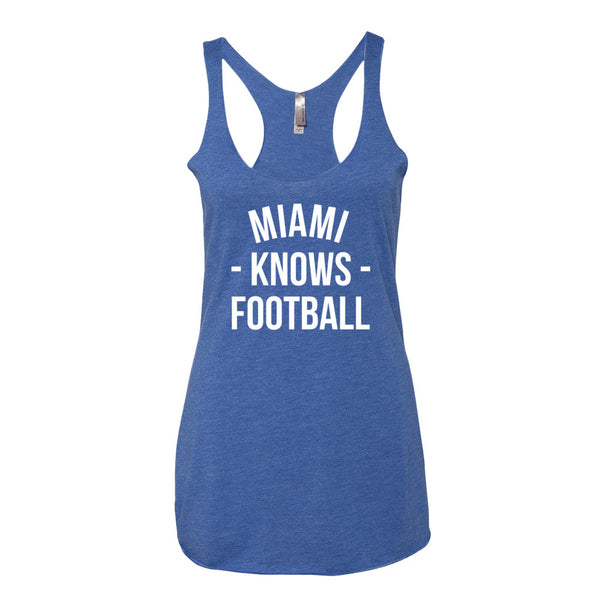 Miami Knows Football Women's Tank-Top