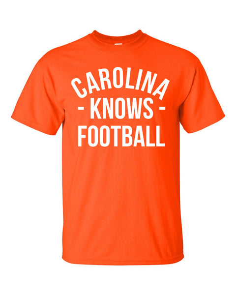 Carolina Knows Football T-Shirt (Unisex)