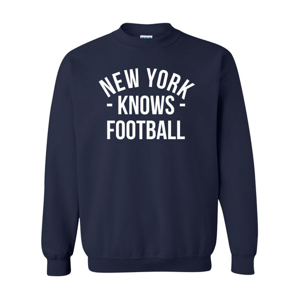 New York Knows Football Sweater (Unisex)