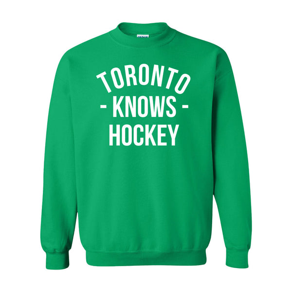 Toronto Knows Hockey Sweater (Unisex)