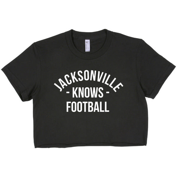 Jacksonville Knows Football Women's Crop Top