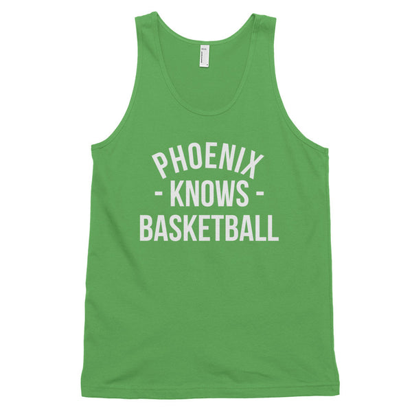 Phoenix Knows Basketball Tank-Top (Unisex)
