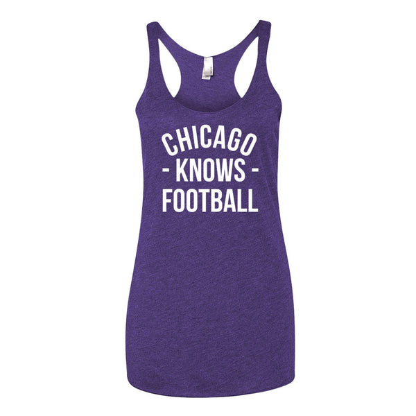 Chicago Knows Football Women's Tank-Top