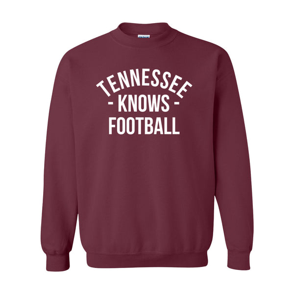 Tennessee Knows Football Sweater (Unisex)