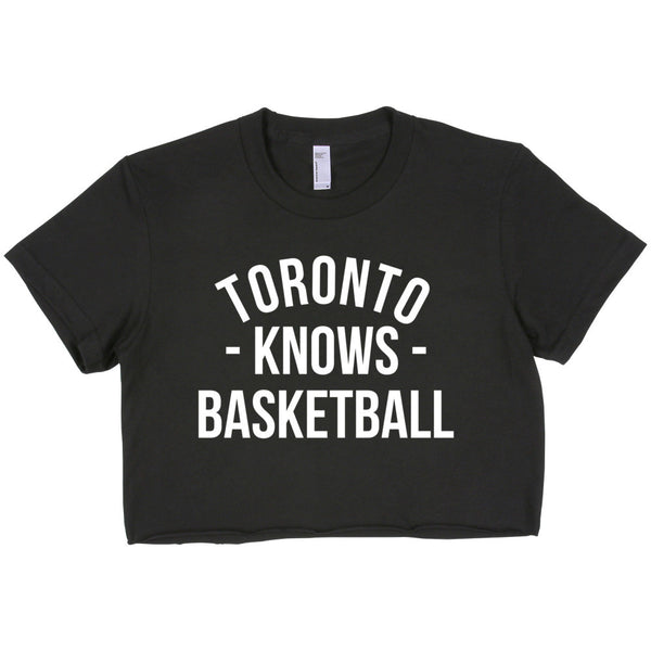 Toronto Knows Basketball Women's Crop Top