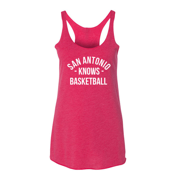 San Antonio Knows Basketball Women's Tank-Top
