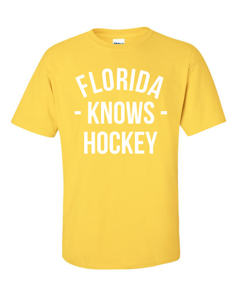 Florida Knows Hockey T-Shirt (Unisex)