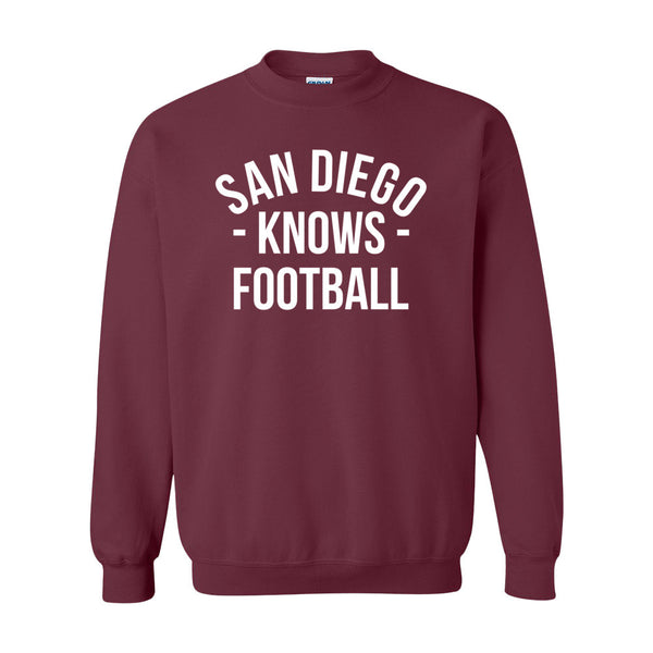 San Diego Knows Football Sweater (Unisex)
