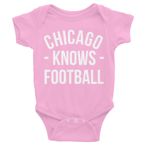 Chicago Knows Football Baby Onesie