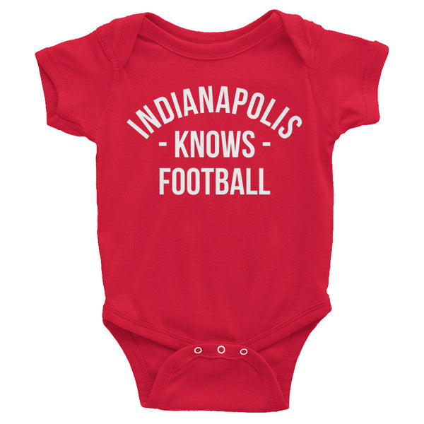 Indianapolis Knows Football Baby Onesie