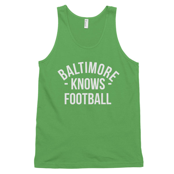 Baltimore Knows Football Tank-Top (Unisex)