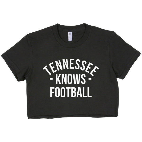 Tennessee Knows Football Women's Crop Top